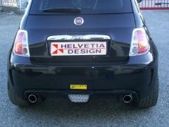 Fiat 500 Minigonne Sportive Spoiler Posteriore Sport Bias