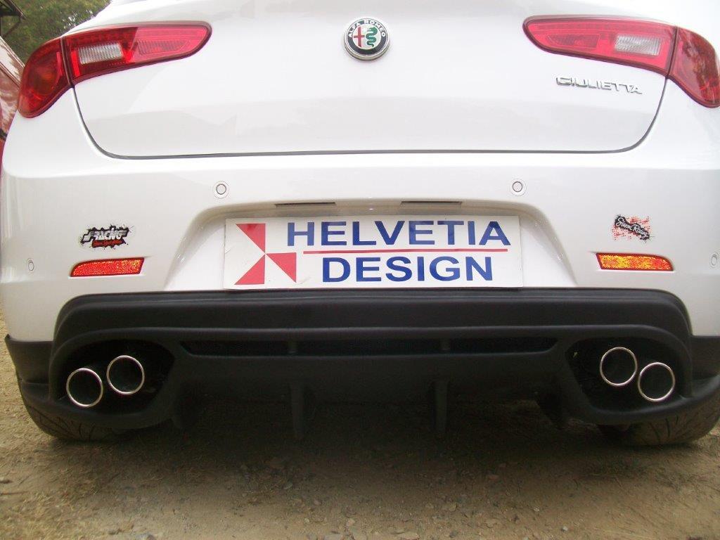 Dam Sotto Paraurti Posteriore 2 uscite Alfa Romeo Giulietta